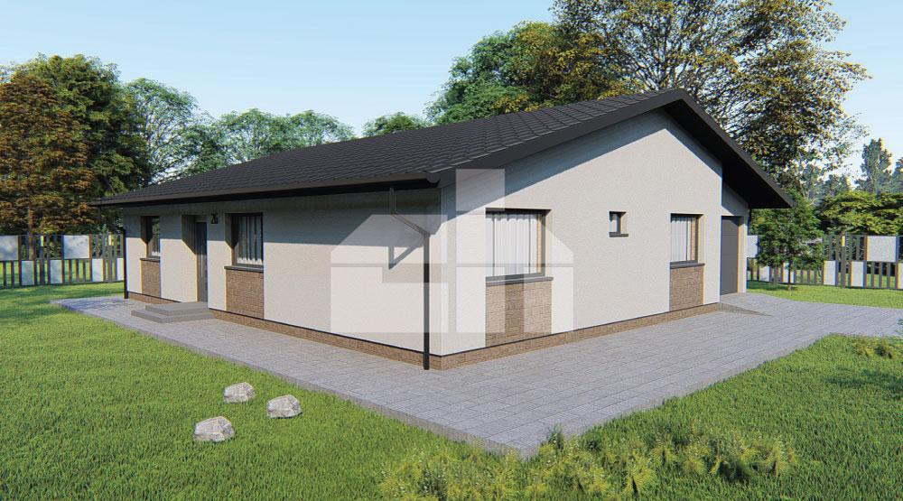 Négy hálószobás bungaló garázzsal - sz.26