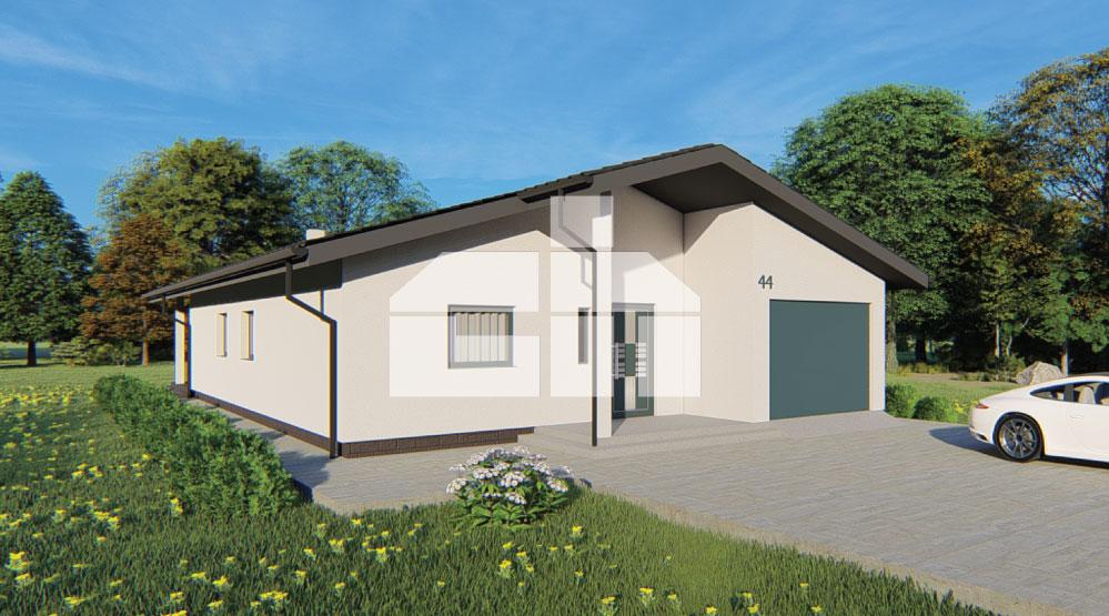 Négy hálószobás bungaló garázzsal - sz.44