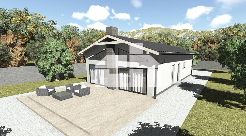 Három hálószobás ház műteremmel- sz.33