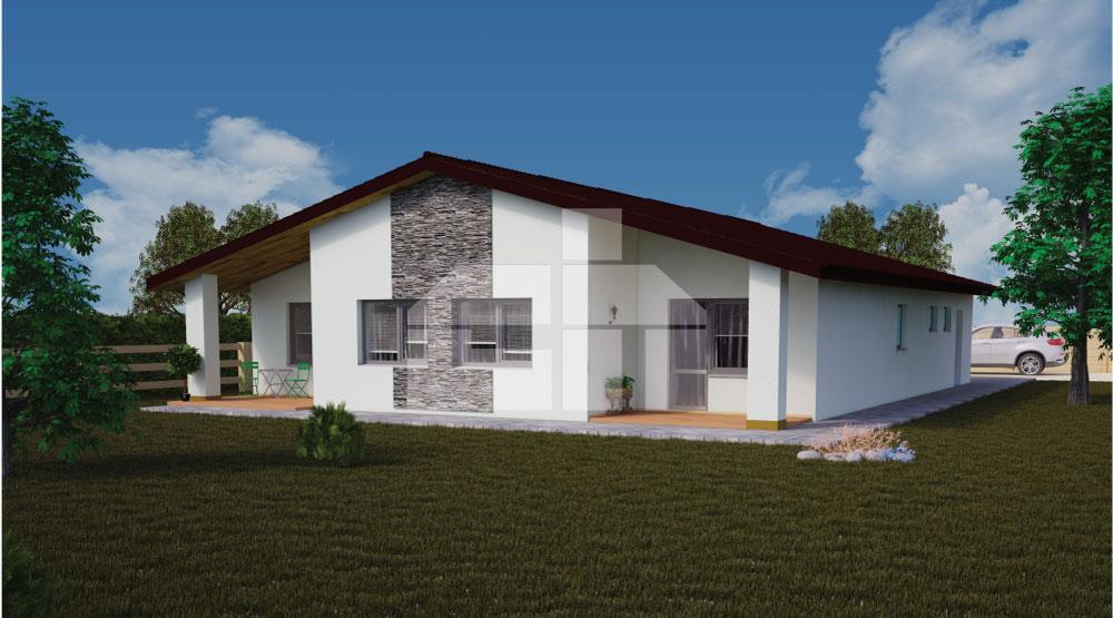 """5 szobás bungaló amelyet már ismerhet a népszerű tévéműsorból """"Nové bývanie"""" (Új otthon) - sz.40"""