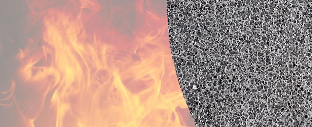 Előregyártott kerámia házak tűzállósága