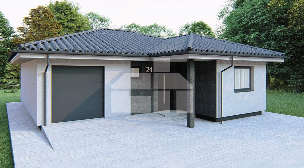 Három hálószobás ház garázzsal - sz.24
