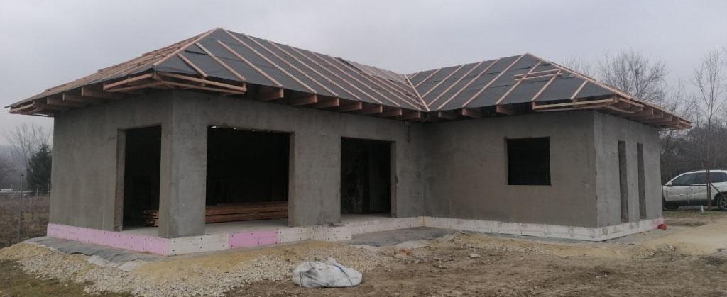 Ház építése a téli időszakban