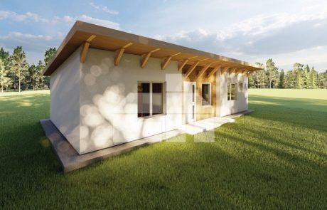 4 szobás moduláris ház