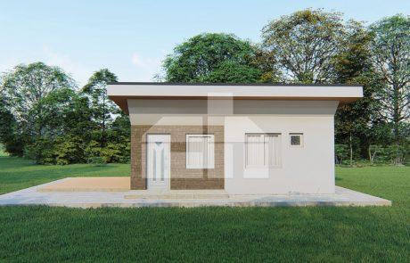 2 szobás moduláris ház